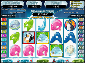 Penguin Power Slot Screenshot